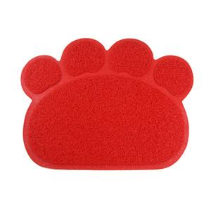 Haustier Hund Matte Pad Paw PVC Bett Teller Platzierungen Katze Wurfmatte Haustier Lebensmittel Wasserzufuhrplatz Platzierung Haustiere Teppich Haustier Zubehör PPA3150