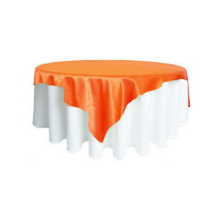 228228cm Rectangular Table Cloth Satin Fabric Tablecloth Wedding Party Events Banquet Decorations Supplies For Home Textiles jllXSv