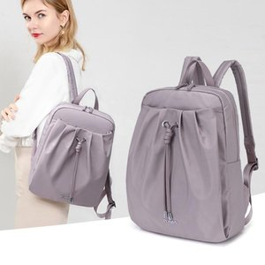 LIKETHIS Oxford Waterproof Backpack for Women High Quality Casual Travel Backpacks 2021 Spring Lady Daily Work Bag Mochila Mujer