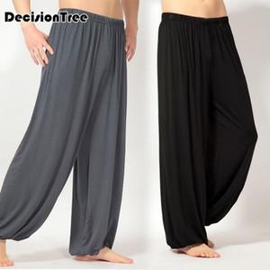 2020 men thai harem trousers high waist yoga pants pants tai chi sweatpants trainning nepal style Gym wear