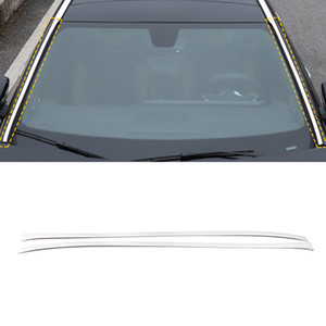 Car Accessories Stainless Front Windshield Window Cover Trim Frame Sticker Chrome for Mercedes-Benz A-Class V177 W177 2018-2021