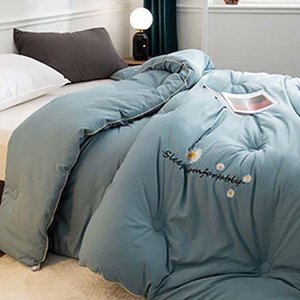 Comforters & Sets Winter Thick Blanket Quilt Air Condition Comforter Duvet Double King Bedspread Bed Cover Bedding Queen Size
