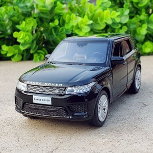 1:32 Free Shipping Alloy Land-Rover Range Rover Sports Car Model Sound and Light Back Children Toys Favorite Boy gift