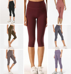 2021 Estilista para mujer Lu High Vfu Yoga Pantalones Pantalones Leggings Yogaworld Mujeres Entrenamiento Fitness Set Fitness Elastic Fitness Lady Mights Sol E0kq #