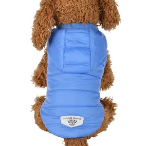 Pet Hoodies Dog Winter Waterproof Warm Down Jacket Puppy Coat Thick Costume for Chihuahua Small Medium Dogs