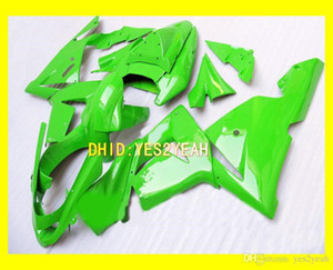 Green Fairing Body Kit per Kawasaki Ninja ZX10R 04 05 ZX-10R Bodywork ZX 10R 2004 2005 Fieldcycle Set + Regali
