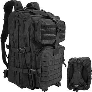 Kosse Tactical Backpack, 48L Large Rucksack 3 Day Outdoor Assault Molle Pack Go Bag Backpacks