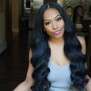 Mike Mink Бразильские волосы девственницы Wefts Body Wave 4 пучка 100% наращивание человеческих волос Натуральный цвет для женщин Все возрасте 8-28 дюймов