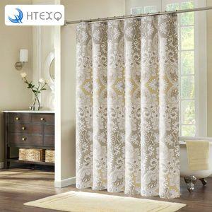 HTEXQ Bestseller Moderne Bad Duschvorhang Produkte Badezimmer Vorhänge 201102