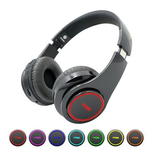 Y1 Wireless Headphones Bluetooth Headset with 7 LED light (can on off) Support TF Card earphone with mic for PC TV phone xiaomi Y1128