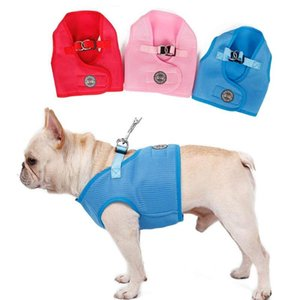 Pet Dog Clothes Breathable Mesh Puppy Walking Vest Harness with D-ring TB Sale