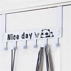 Classic Seamless Home Bag Door Hook Door Back Wall Hanger Clip Clothes Bag Storage Rack Household Hook