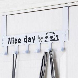 Classic Seamless Home Bag Door Hook Door Back Wall Hanger Clip Clothes Bag Storage Rack Household Hook