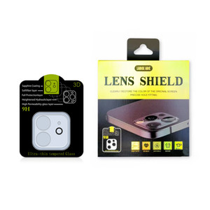 Back Camera Lens Tempered Glass For iPhone 12 Camera Lens Protetive Glass Case For iPhone 11 12 Pro max Lens Film with Package
