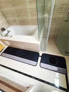 Urable Bathroom Mats Tide Letters Pattern Rettangolo Tappeti antiscivolo Corridoio WC Porta tappeti Kichen Balcone Portico tappeto