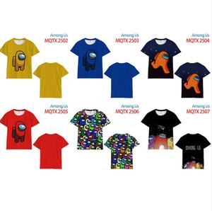 Juego entre nosotros Camiseta Unisex Dibujos animados Anime Impreso T Shirt Hombres Mujeres Modal Colorido Pullover Blusa Tshirt Boy Girls Linda Top Tees CZ11103