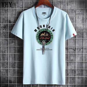 T Shirt Estate Nuovo Uomo di alta qualità Casual Manica Corta O-Collo 100% T-shirt in cotone Uomo Brand Bianco Bianco Tee Shirt Black F-7