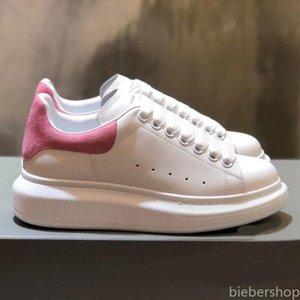 Autunno 2020 Nuova piattaforma Piccoli scarpe bianche per le donne a contrasto Colore Instagram Casual Lacing Fashion Moda comoda Scarpe singola da donna BB
