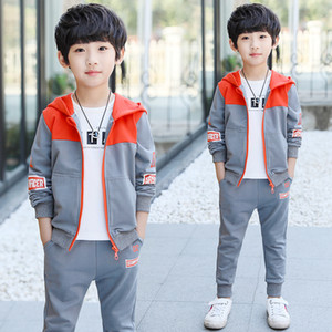 Children's boy spring suit 2020 new big children handsome boys spring autumn models 2 Korean version