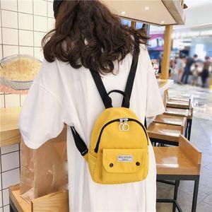 Women Mini Backpacks Nylon Shoulder Teenage Girls Small School Backpacks Casual Travel Rucksack Sac A Dos Femme #H10