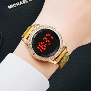 Luxury Digital Magnetic Watches For Women Rose Gold Diamond LED Ladies Quartz Watch Female Clock Relogio Feminino Dropshipping