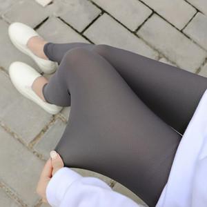 Summer Women Ice Silk Plaid Leggings Elasticity Pants Legging Casual Pencil Solid Women's Plus Size Leggings Mesh Pants
