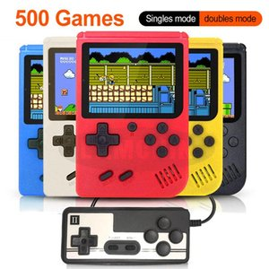 500 IN 1 Retro Handheld Game Portable Pocket Game Console Mini Handheld Player for Kids Gift