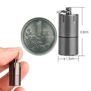 Capsule Kerosene Cigarette Torch Gasoline Ring Keychain Fluid Petrol Cigar Key Oil Survive Chain Keyring Lighter Refill jllFEg