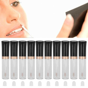 10pcs Empty Lip Gloss Bottles 5ml Refillable Lip Gloss Tubes Container Cosmetic Liquid Lipstick Storage Refillable Bottle