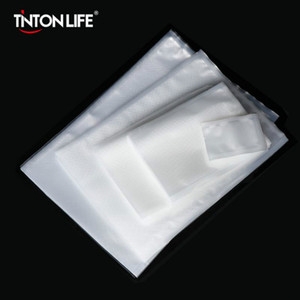 Tintonlife 100pcs lot Vacuum Bags for Food Vacuum Sealer Packing Machine Food Storage Bag With Food Grade MaterialFY7407