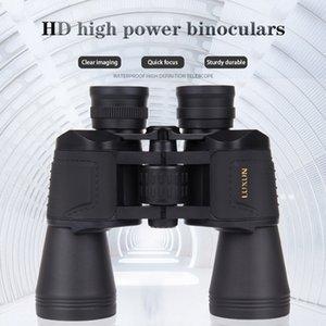 Luxun 20x50 Hd High Magnification Outdoor Hunting Low Light Night Vision Powerful Binoculars Big Eyepiece Telescope