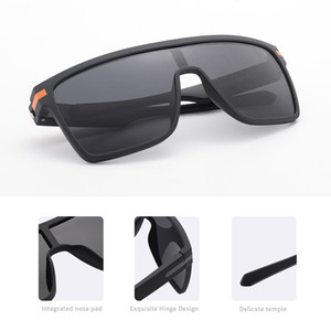 high end AOFLY Brand Polarized Sunglasses Men Fashion Oversized Flexible Frame Square Male Sun Glasses For Driving Goggle zonnebril heren
