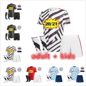 adult + kids 2021 Manchester Rashford CAVANI Van De Beek RASHFORD Fernandes Greenwood united soccer jerseys utd football shirts HUMANRACE