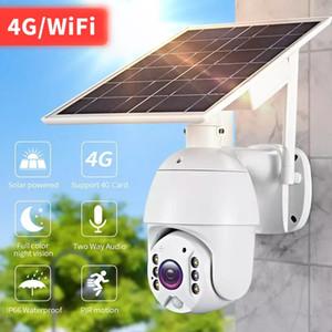 1080p Cloud Caméra IP sans fil 4G Solaire Solar HD HD Wi-Fi Surveillance de la sécurité Sécurité de la sécurité Imperméable Caméra extérieure IR Night Vision