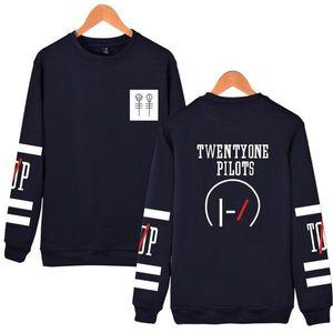 LuckyFridayF Vinte Um Pilotos Hoodies Capless Homens Marca Designer Mens Sweatshirt 21 Pilotos Suéter Men 'S Capuz Roupa 2020