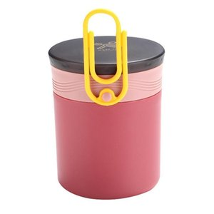 1pc Mini Soup Cup Sealed Practical Mug Porridge Cup Leakage-Proof Milk