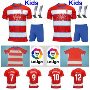 Kids Granada Youth MACHIS Jersey Socks Soccer Set VADILLO VICTOR DIAZ SOLDADO PUERTAS HERRERA MONTORO FERNANDEZ Football Shirt Kits