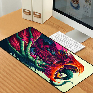 80x30cm Lockedge Large Gaming Mouse Pad Computer Gamer Keyboard Mouse Mat Hyper Beast Desk Mousepad L for PC LJ201031