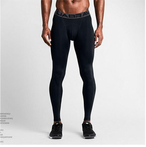 Haut Élasticité Leggings Hommes Hot sexy Gym Compression Fitness Collants Pantalons Jogging Sportswear Pantalons de sport Leggings Pan Nbbn