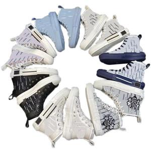 Top Qualität 19ss Luxurys Designer B 22 23 Schrägbiene Biene Stickerei Technologie Platform Sneakers Männer für Frauen Mode Freizeitschuhe
