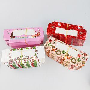 New Lash Boxes Christmas Lash Packaging Box Bulk Lash Cases Rectangle Eyelash Packaging Boxes Eyelash Boxes For Makeup
