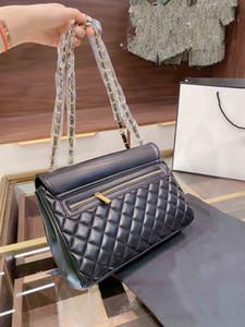 newest ladies designer leather handbags European and American retro large-capacity one-shoulder wild diagonal bag trend