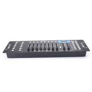 New 192CH DMX512 DJ LED Black Precision Stage Light Controller (AC 100-240V) Metal high quality Material