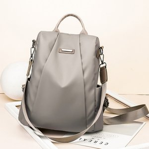 Casual Travel For Women Nylon Waterproof Backpack Anti-theft School Bag Oxford Cloth Business Knapsack mochila