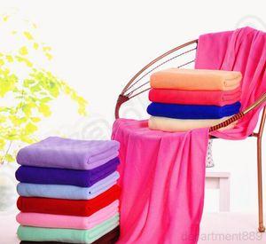 A-Microfiber Beach Drying Bath Washcloth Towel Swimwear Travel Camping Shower Cleaning Towels 70x140cm OWE2101