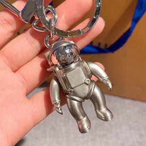 2020 Fashion Gifts Spaceman Key Cadena Accesorios Moda Diseños de autos Key Cadens Accesorios Menores y mujeres Caja colgante Paquete Llaveros