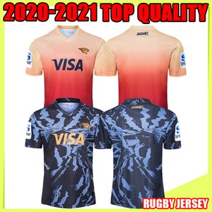 The Jaguares 2020 Adultes Super Rugby Jerseys Shirt Maillot Camiseta Maglia Shirt de rugby de haute qualité pour adulte S-5XL