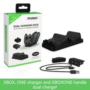 Xbox One Controller 듀얼 충전 도크 충전기 + 2pcs y0114의 2pcs 충전식 Xbox One 컨트롤러 배터리 스탠드에 대한 빠른 충전기