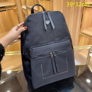 Herren Rucksäcke Mode Schultaschen Massiv Schwarz Große Rückenpackung Für Männer Umhängetaschen Rindsleder Hohe Qualität Tipptaschen