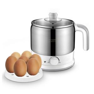 220 V Multifunzione elettrica Pentola di cottura in acciaio inox fodera in acciaio inox macchina da cucina mini cucina alimentare con uova al vapore Pan Y1201